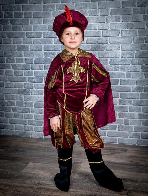Новогодний костюм для мальчика Принц р. 30-38