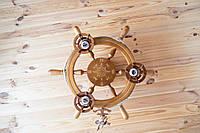 Люстра штурвал с компасом