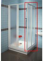 RAVAK Душевая дверь в нишу SRV2-80 S white+glass Grape (14V40102ZG)