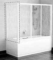 RAVAK Боковая стенка для ванной APSV-75 white+glass Grape (95030102ZG)