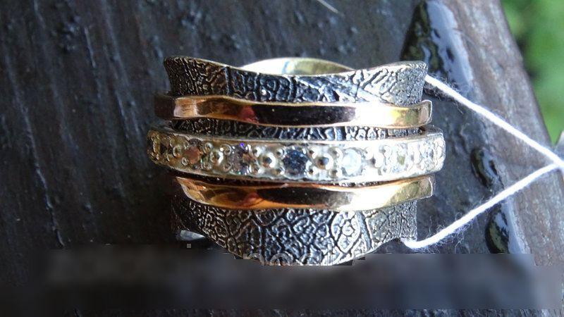 Женское серебряное кольцо Солярис