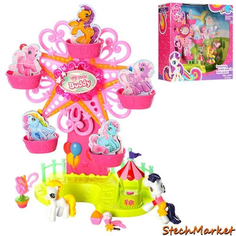 Домик-карусель для пони 789 My Little Pony