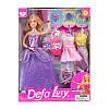 Кукла DEFA 8269 с нарядами 29см