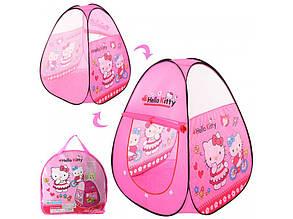 Палатка 3735 Hello Kitty пирамида, 95-95-112см