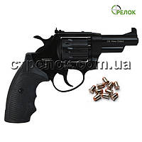Револьвер под патрон Флобера Сафари 431М PRO Black, пластик