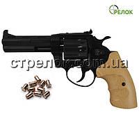 Револьвер под патрон Флобера Сафари 441М PRO Black, бук