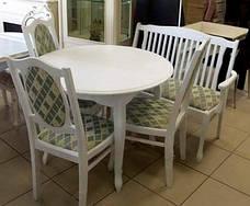 Стол обеденный   Лион fn (белый, ваниль, бежевый), фото 3