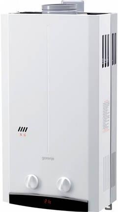 Водонагрівач проточний газовий GORENJE GWH 10NNBW, фото 2