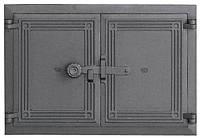 Чугунная дверца для камина DCHP5 480x335, фото 1