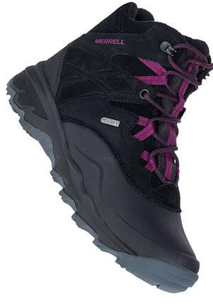 Оригинальные Ботинки женские Merrell TERMO SHIVER 6 WTPF J02912P Black Черные с мехом, фото 2