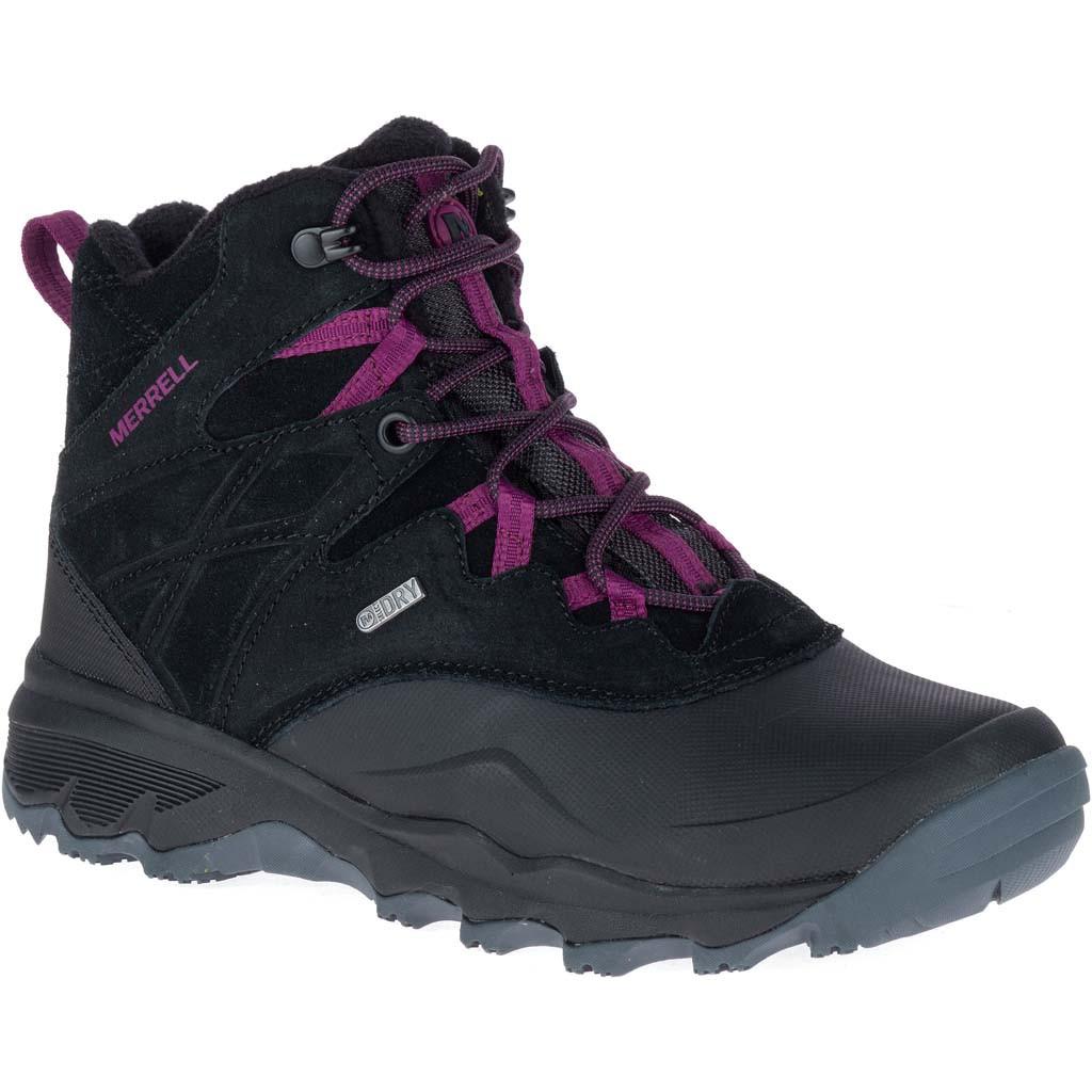 Оригинальные Ботинки женские Merrell TERMO SHIVER 6 WTPF J02912P Black Черные с мехом
