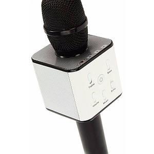 Микрофон Karaoke Q7 (с чехлом) ЧЕРНЫЙ
