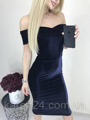 1f2d0499b3b Бархатное новогоднее вечернее платье Angi