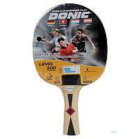 Ракетка для настільного тенісу 1 штука Donic Top Teams 300 705031 гума 1.5  мм 7d470b3944c3f