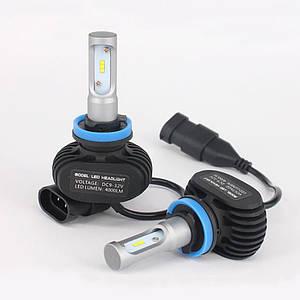 Комплект светодиодных LED ламп Xenon S1 H11
