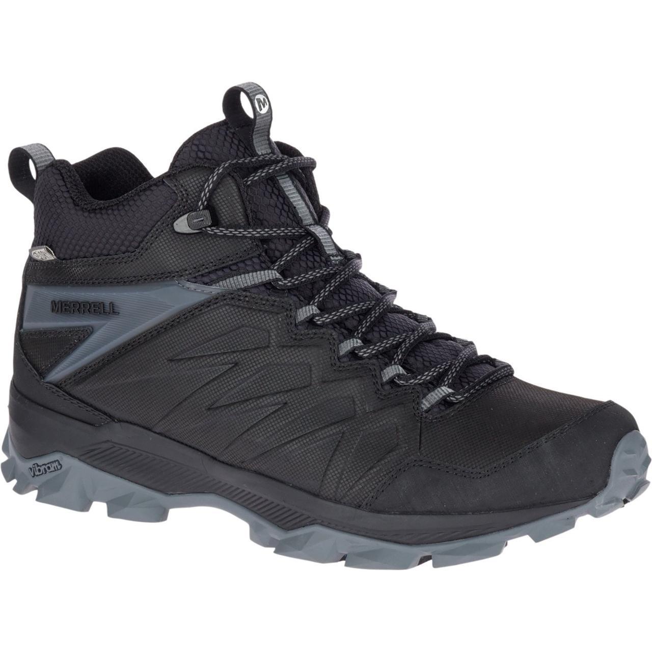 Ботинки Оригинальные мужские зимние Merrell Thermo FREEZE WP J42609 Black Чёрные
