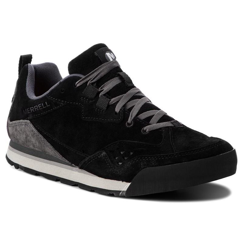 Ботинки Оригинальные мужские Merrell BURNT ROCK TURA SUEDE J32881 Black