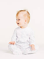 Комбинезон с длинным рукавом для девочки ТМ Смил, арт. 108440, возраст от 6 до 18 месяцев