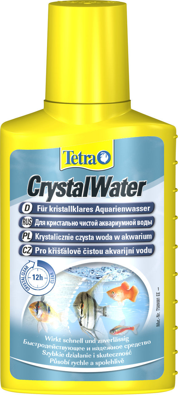 Засіб по догляду за водою Tetra Aqua Water Crystal від помутніння води 100 мл