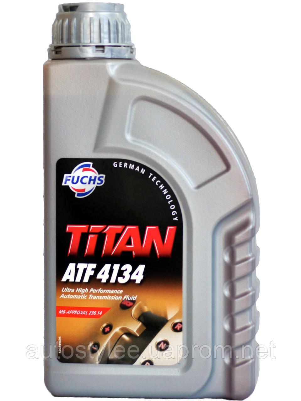 Масло трансмиссионное Titan ATF 4134 1 л.