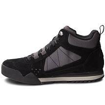 Ботинки Оригинальные мужские Merrell BURNT ROCK TURA MID SIEDE J32877 Black Чёрные, фото 2