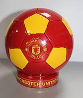 Сувенирный настольный футбольный мяч с символикой FC Manchester