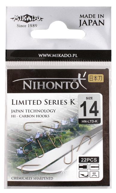 Крючок Mikado Nihonto Limited Series K 10 шт