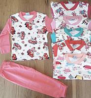 Детскаяпижамадлядевочки, 1-4года, розовая