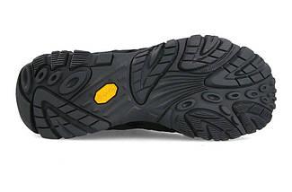 Ботинки Оригинальные мужские Merrell Moab 2 SMOOTH J42511 Black Чёрные, фото 3