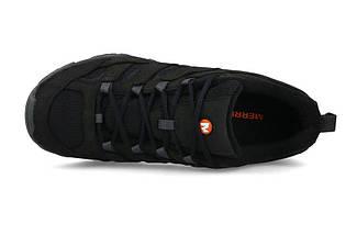 Ботинки Оригинальные мужские Merrell Moab 2 SMOOTH J42511 Black Чёрные, фото 2