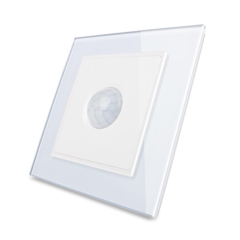 Датчик движения, Инфракрасный выключатель Livolo цвет белый, стекло (VL-W291RG-11)