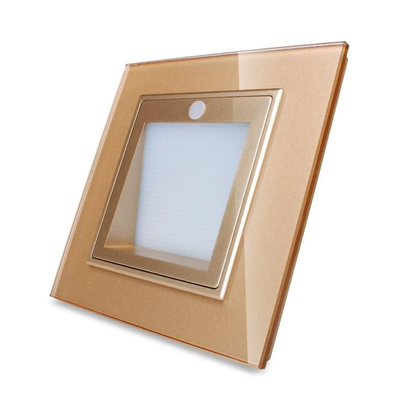 Светильник для лестниц, подсветка пола Livolo цвет золотой (VL-W291JD-13)