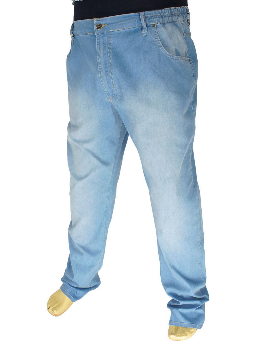 Голубые мужские джинсы Dekons 2001 АК 11015 большого размера