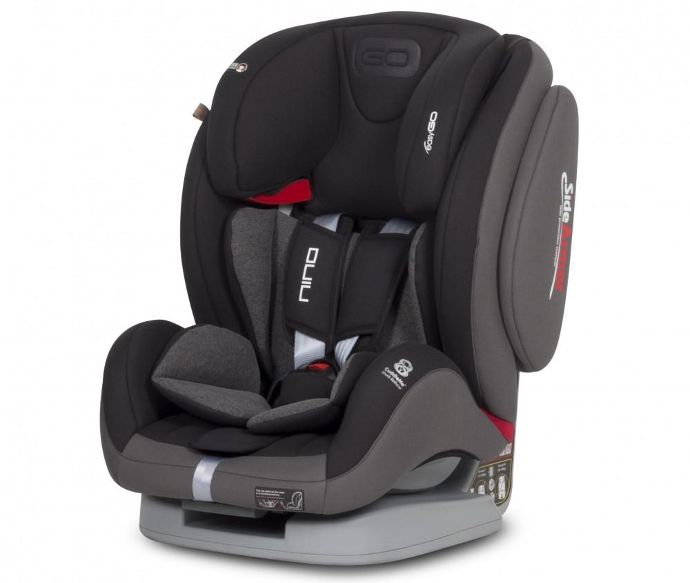 Детское автокресло EasyGo Nino carbon (9-36 кг)
