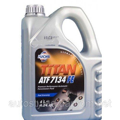Масло трансмиссионное Titan ATF 7134 FE 4 л.