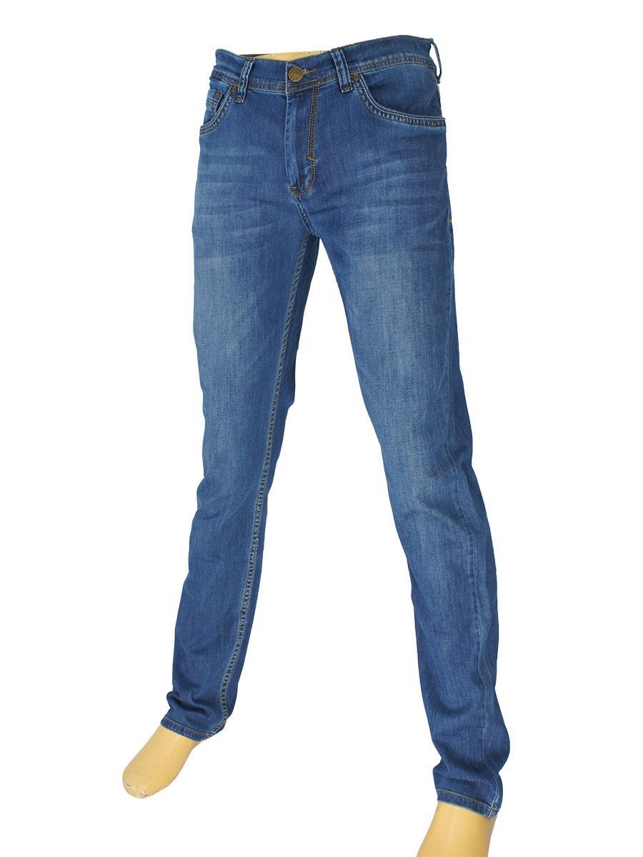 Мужские вытертые джинсы Cen-cor CNC-1504 Blue