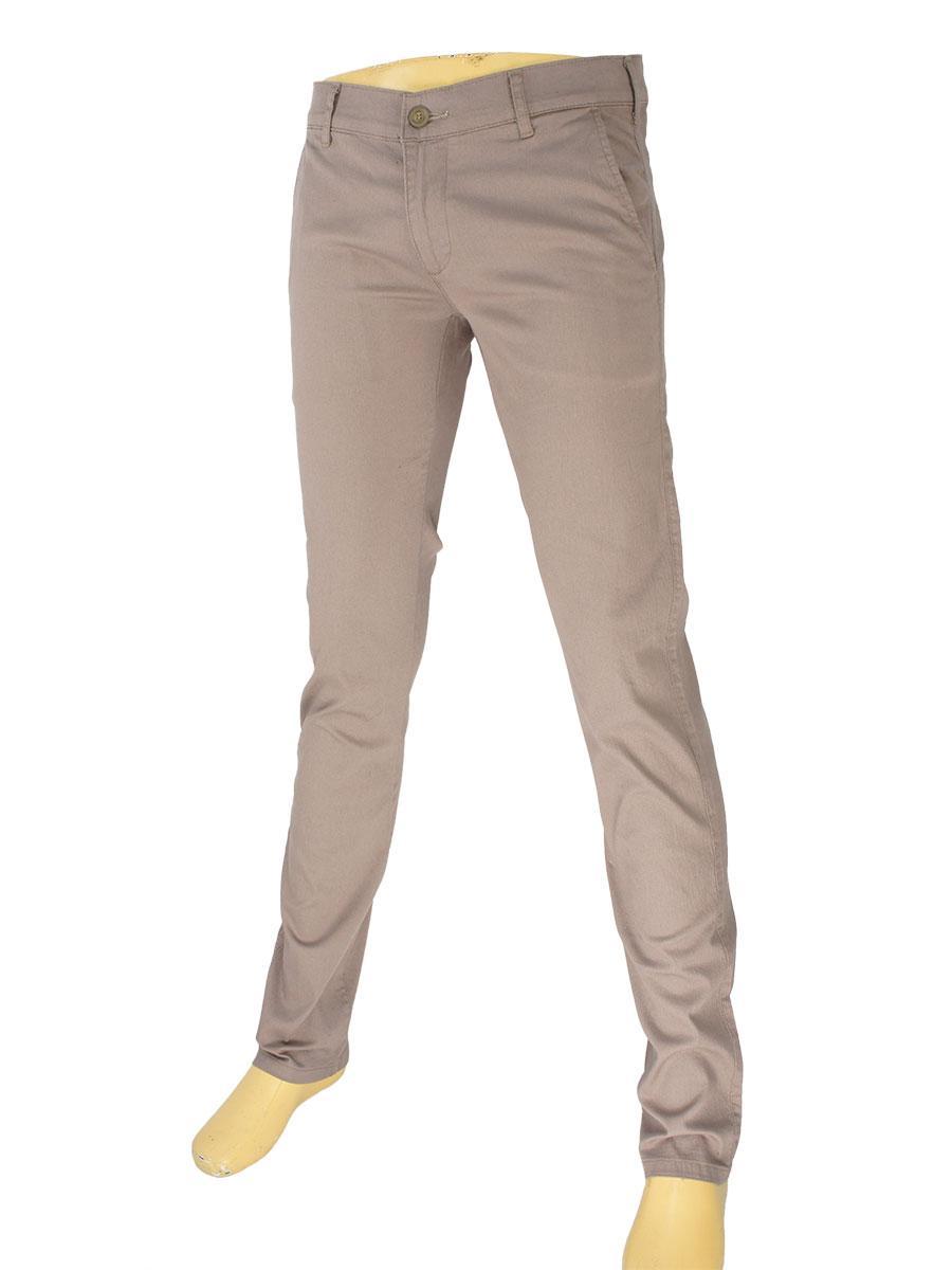 Светлые мужские джинсы Cen-cor CNC-9295 Vizon бежевого цвета
