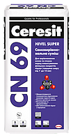Ceresit СN 69 25 кг Самовыравнивающаяся смесь 1-25 мм