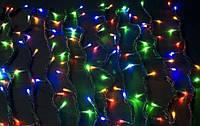 Гирлянда Штора Водопад 240 LED 3м*1.5м, Цвет мульти