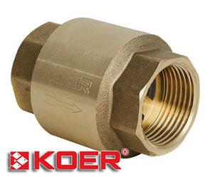 "Обратный клапан Koer 1"" KR.171"