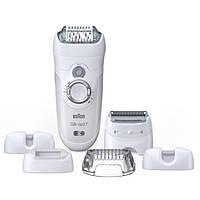 Эпилятор Braun Silk Epil 7561 бело-серебристый