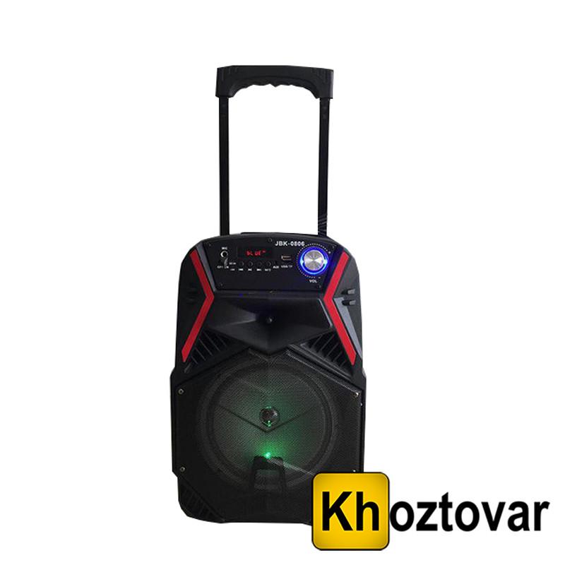 Портативная акустическая система JBK-0806 с микрофоном