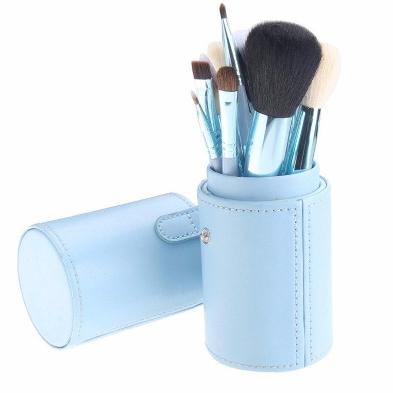 Профессиональные кисти для макияжа МАС в тубусе 12 шт