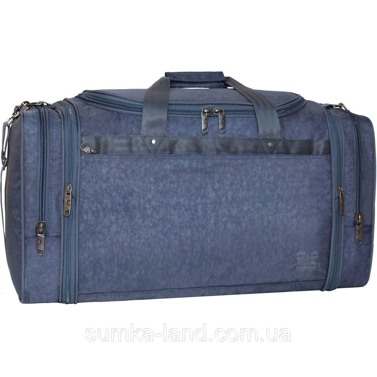 47d63a4ab9ab Дорожная сумка Bagland Мюнхен 59 л, Трансформмер, 32*62*30 см (серый ...