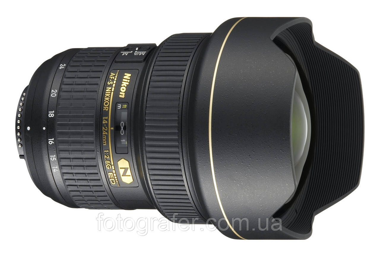 Объектив Nikon Nikkor AF-S 14-24 mm f/2.8G ED Гарантия производителя ( на складе )