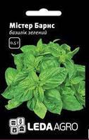 """Семена базилика зеленого Мистер Барнс, 10 гр., ТМ """"ЛедаАгро"""""""