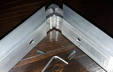 Угловой крепеж для трубы прямоугольной 20х80 мм, фото 3
