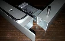 Крепеж потайной для трубы прямоугольной 20х40мм, фото 3