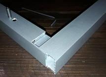 Крепеж потайной для трубы прямоугольной 20х40мм, фото 2