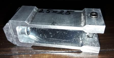 Стык потайной для сборки конструкций из трубы квадратной 25х25мм